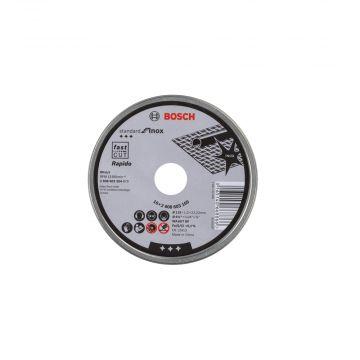 Box Com 10 Discos de Corte Para Inox 115 X 1 X 22,23mm Bosch