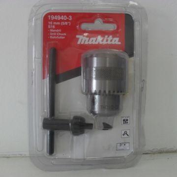 Conjunto Makita com Mandril 16mm e Chave S13