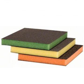 Kit De Esponja Abrasiva Colorida Para Contornos - Bosch