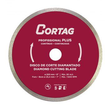 Disco de Corte Diamantado 200mm Cortag Ant 60570