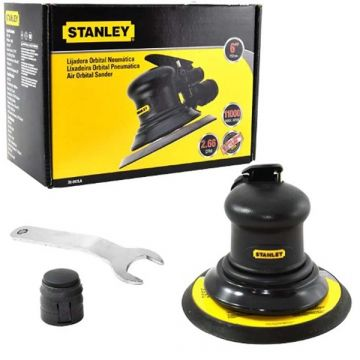 "Lixadeira Orbital Pneumática 6"" Stanley"