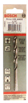 """Brocas para Metal em  HSS  1/2""""  Bosch"""