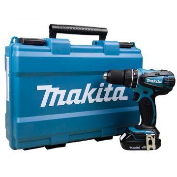 Parafusadeira Furadeira de Impacto à Bateria DHP456RHE1 Makita
