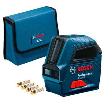 Nível Laser 2 Linhas Bosch GLL 2-10