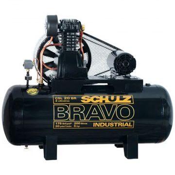 Compressor de Ar CSL20BR/200L Mta5CV 2P 60HZ Bravo