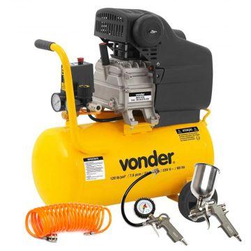 Motocompressor de Ar MCV 076 - 7,6 PCM / 24 Litros Vonder