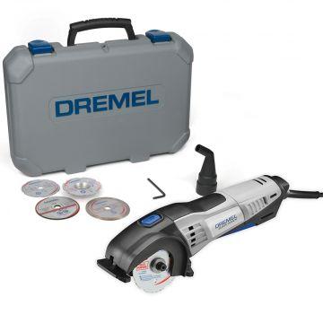 Dremel Saw-Max Mini-Serra Multiuso Compacta com 1 Acoplamento, 4 Discos e Maleta