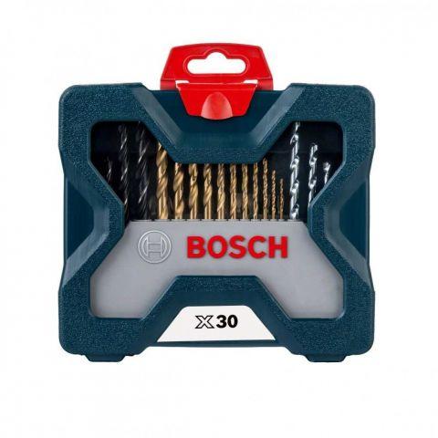 Jogo de Bits e Brocas em Titânio X-Line com 30 Peças - Bosch