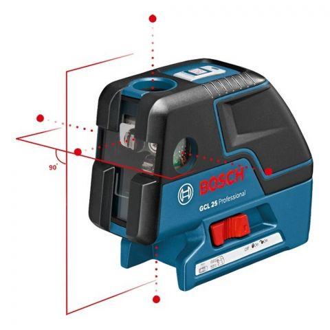 Nível a Laser de Pontos e Linhas Cruzadas GCL 25 Bosch