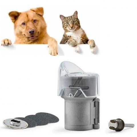 Kit Pet Grooming Para Lixar Unhas De Cães E Gatos Dremel