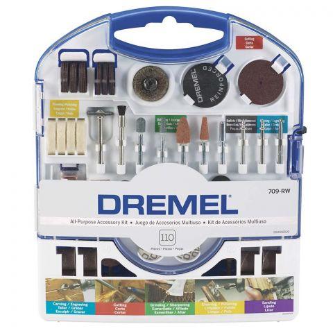 Kit Dremel 709 de Uso Geral 110 peças