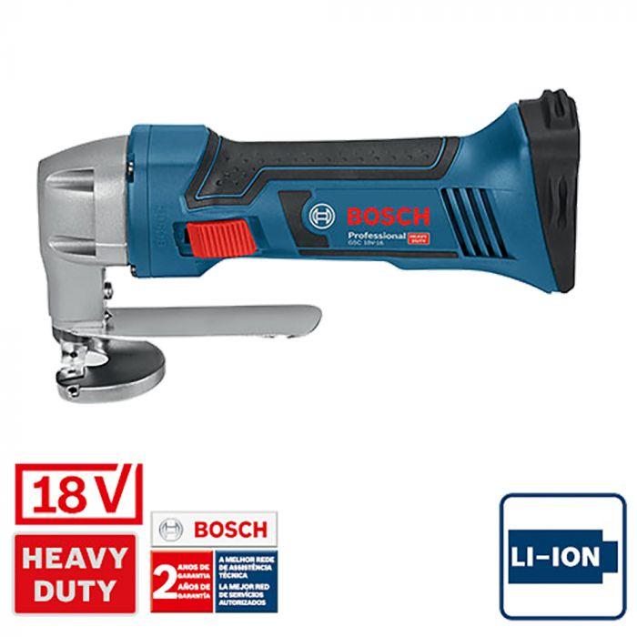 Tesoura Faca à Bateria GSC 18V-16, 18V - Bosch