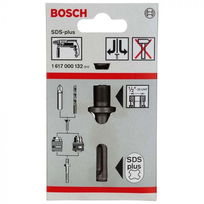 Adaptador SDS-Plus para Mandril Furadeira- Bosch