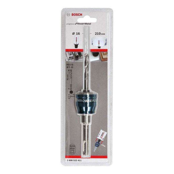Suporte Para Serra Copo SDS Plus Com Broca 7,15x85 mm -Bosch