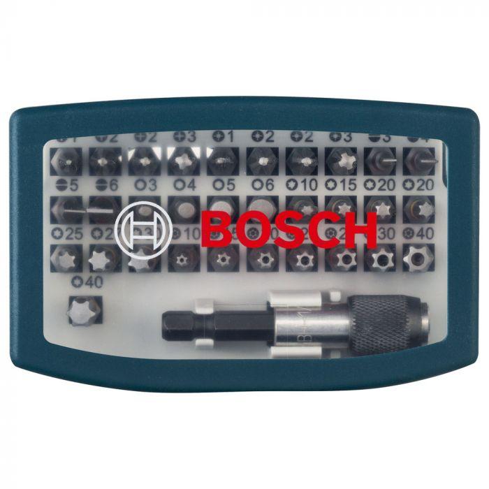 Kit de Pontas para Parafusar com 32 Unidades - Bosch