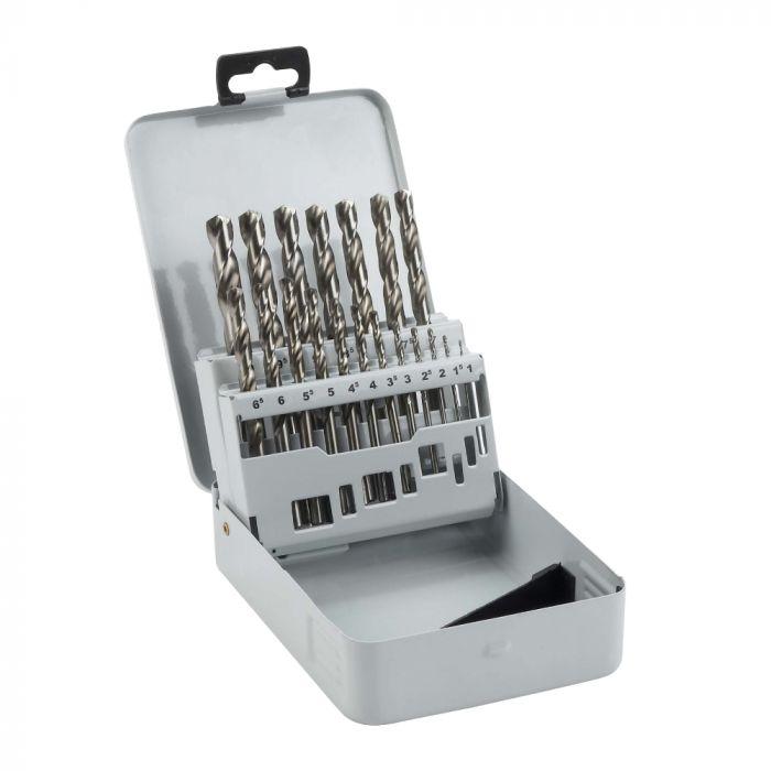 Broca Aço Rápido para Metal HSS-G 1,0-10,0mm com 19 Unidades - Bosch