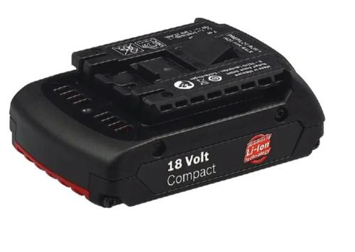 Bateria 18V - 1,3 AH Lítio - Bosch