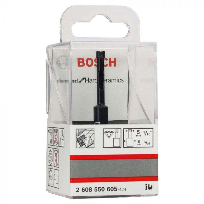 Broca Diamantada 5 x 30 x 65 mm - Bosch