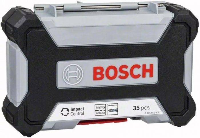 Kit de Pontas e Brocas MultiConstruction com 35 unidades Impact Control - Bosch