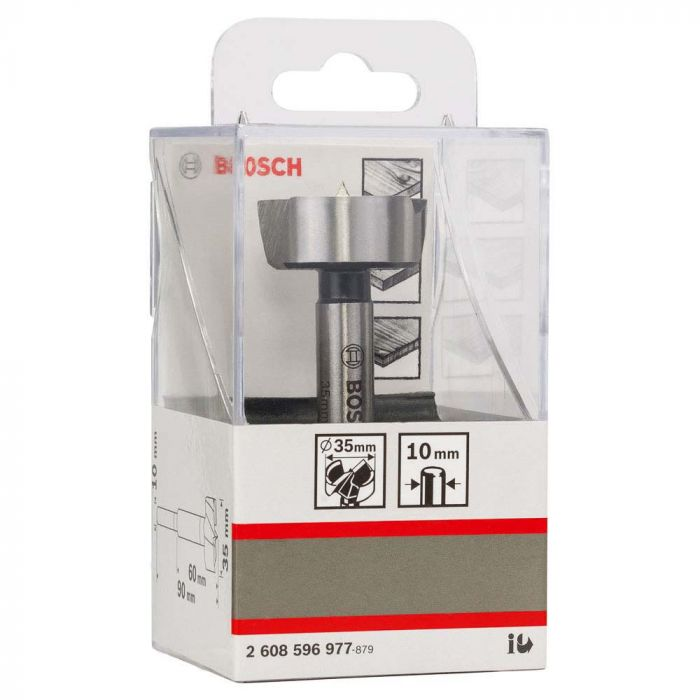 Broca para Madeira Fresadora Forstner 35mm- Bosch