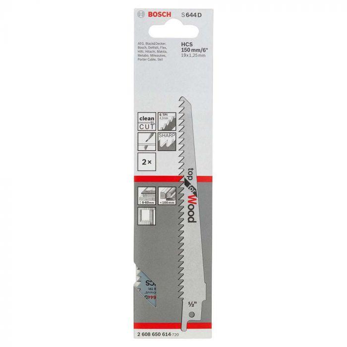 Lâmina de Serra Sabre S644D com 2 Unidades - Bosch