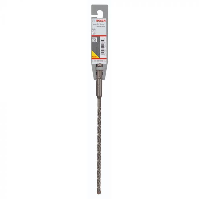 Broca SDS Plus-3 para Concreto 6 x 150 x 210 mm - Bosch