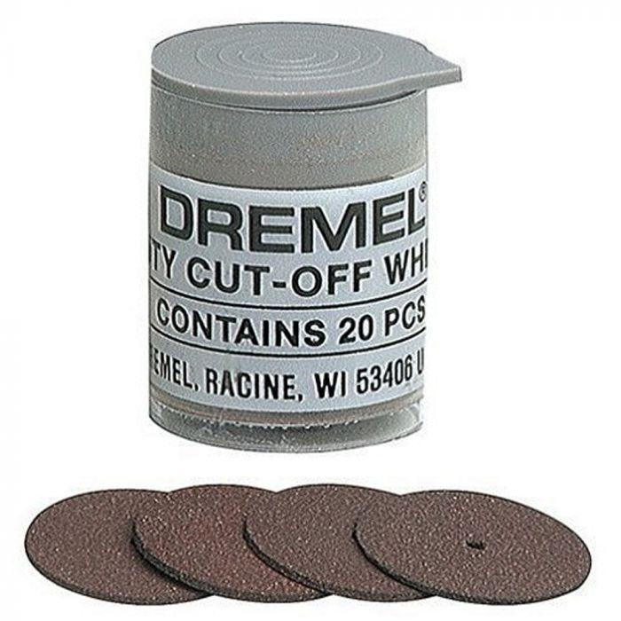"""Disco de Corte 15/16"""" (23,8 x 1,0mm) com 20 unidades Dremel 420"""