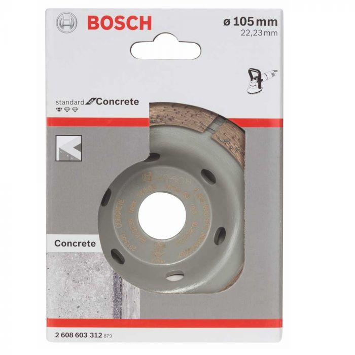 Prato Diamantado para Concreto 15 x 22,23 x 3 mm com 1 Unidade- Bosch