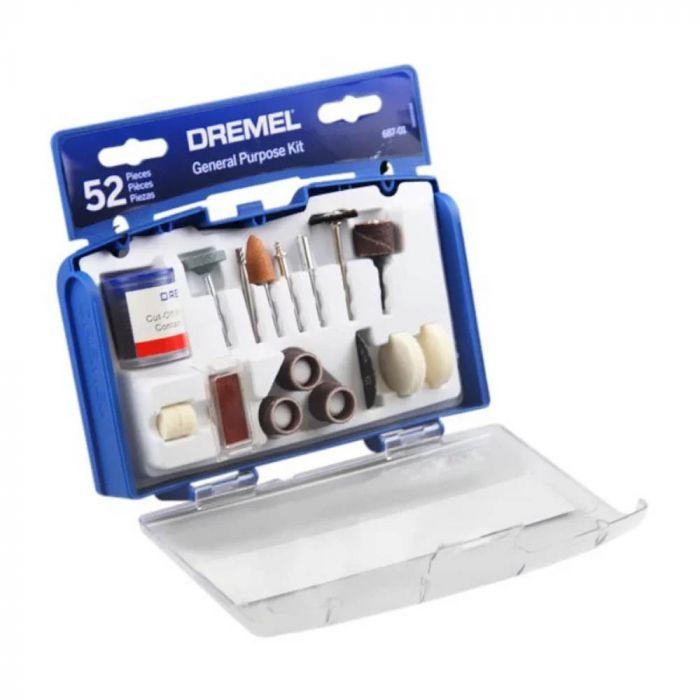 Kit para Uso Geral 687 com 52 Acessórios - Dremel