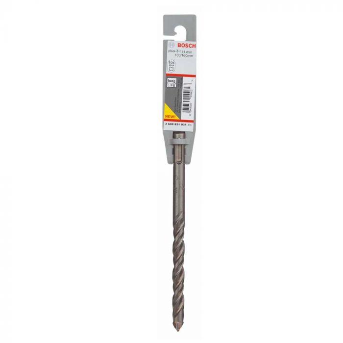 Broca SDS Plus-3 para Concreto 11 x 100 x 160 mm - Bosch