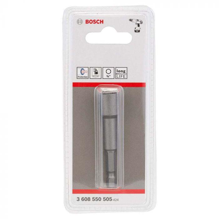 """Soquete Canhão Magnético 65mm, encaixe 3/8"""" - Bosch"""
