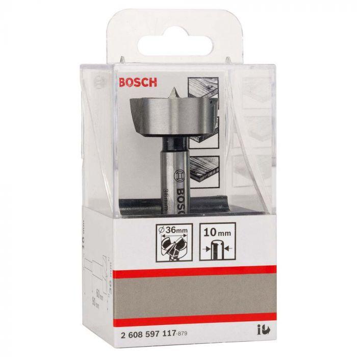 Broca Fresadora Forstner para Madeira 36,0mm - Bosch