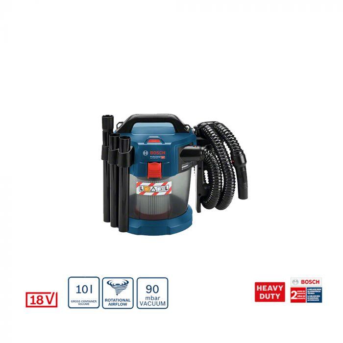Aspirador de Pó à Bateria GAS 18V-10 L 18V – Bosch