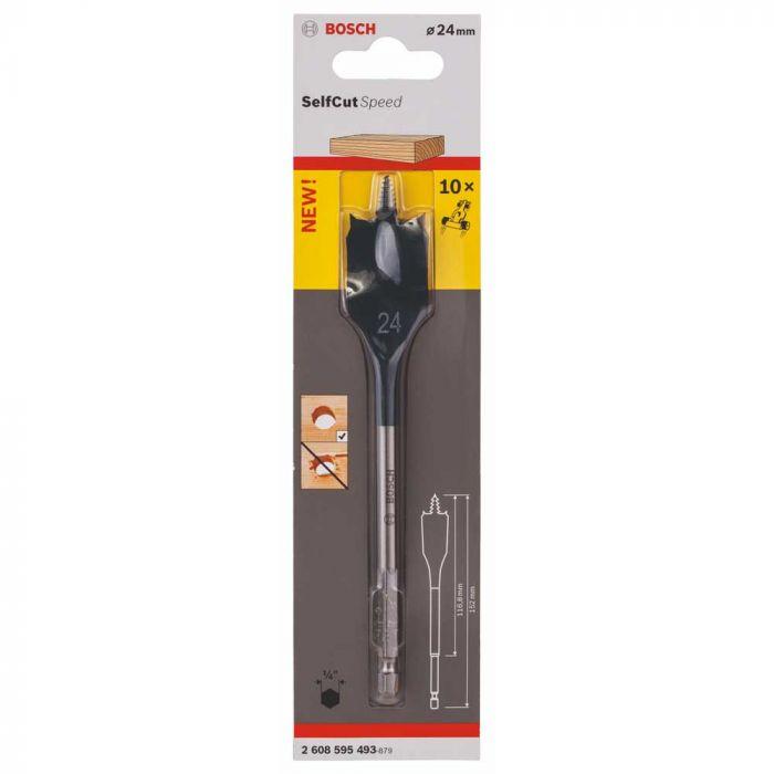 Broca Self Cut Speed para Madeira 24mm - Bosch