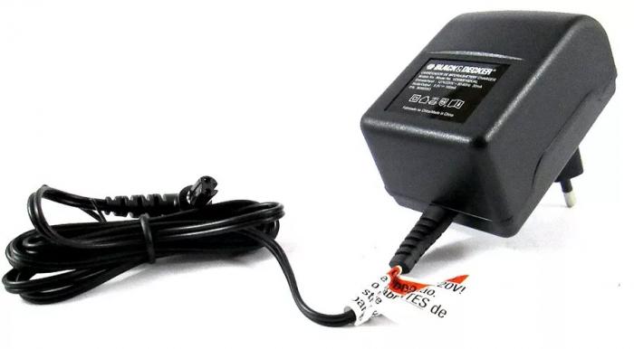 Fonte Carregador Bateria 3,6V  Bivolt Para Parafusadeira Li3100 - Black & Decker
