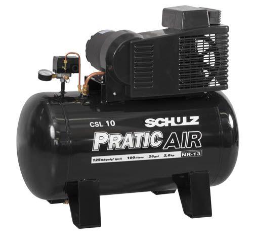 Compressor CSV10 100L 2P 60HZ 110/220V Schulz