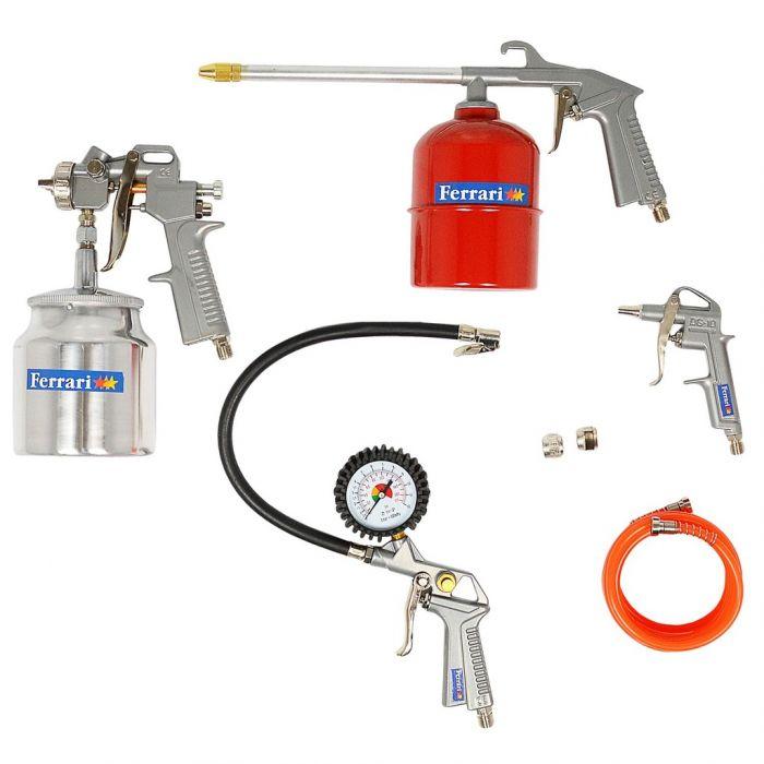 Kit Compressor com 5 Peças Ferrari