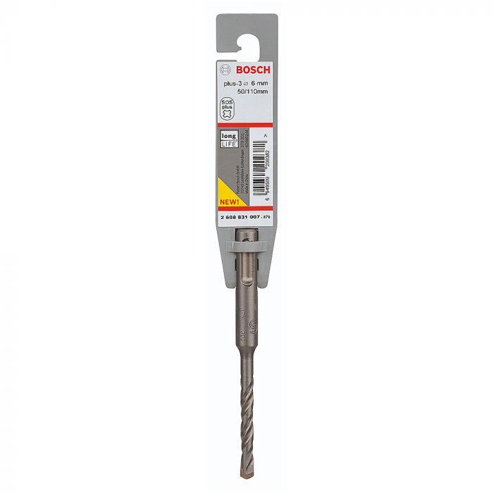 Broca SDS Plus-3 para Concreto 6 x 50 x 110 mm - Bosch