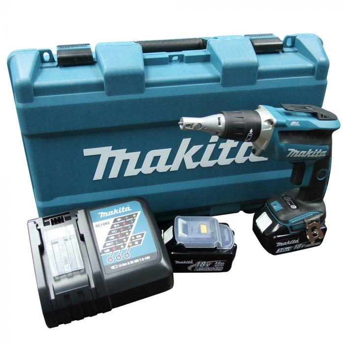 Parafusadeira para Gesso à Bateria DFS452RFE Makita (Default)