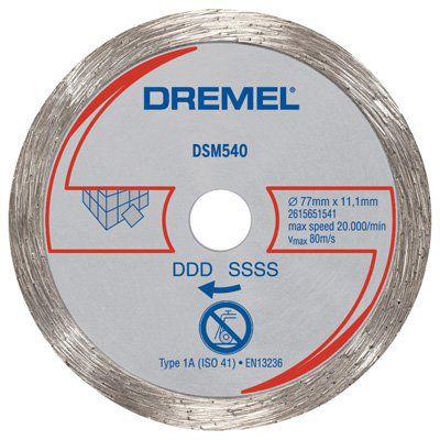 Disco Diamantado Saw-Max Dremel SM540