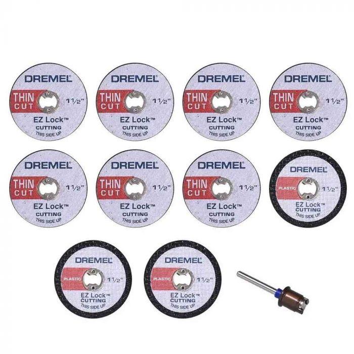 Kit para Cortar EZ Lock EZ688 com 11 Peças - Dremel