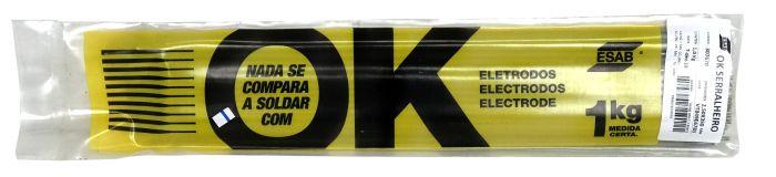 Eletrodo de Solda OK6013 2,50MM 1Kg Serralheiro - Esab