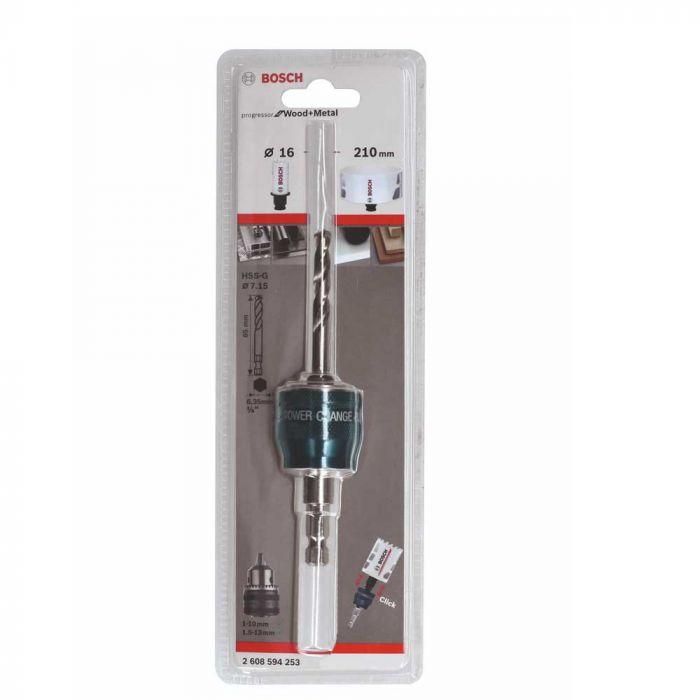 Suporte Para Serra Copo 8,7 mm Com Broca Para Metal - Bosch