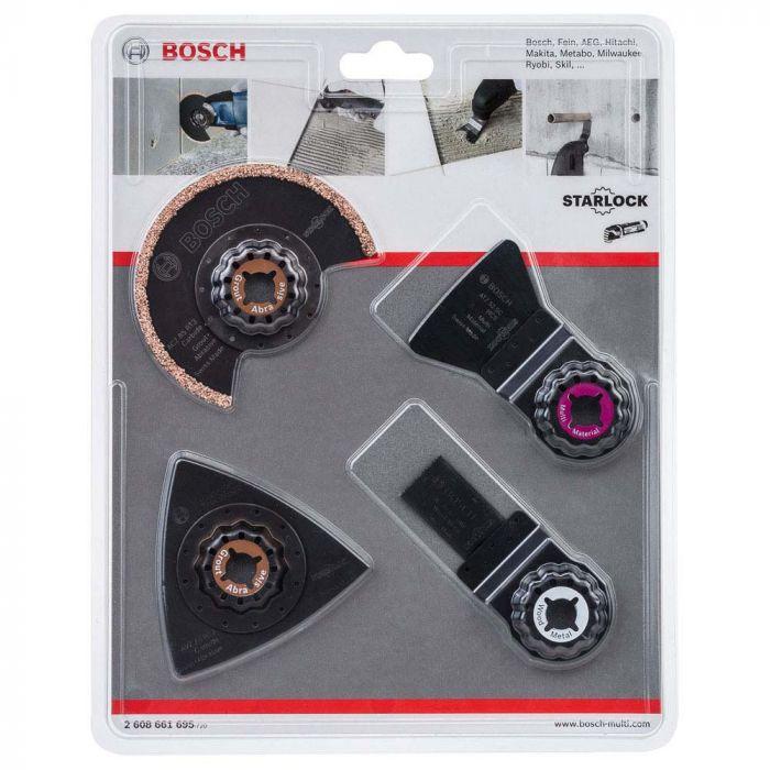 Jogo de Acessórios para Multicortadora  4 peças- Bosch