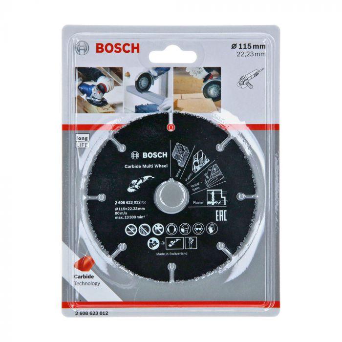 Disco de Corte Multimaterial 115mm- Bosch