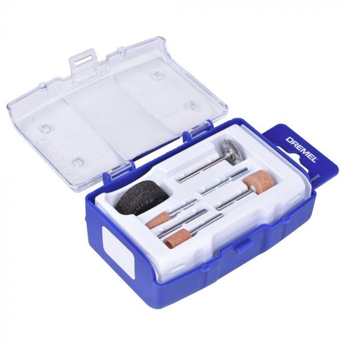 Kit para Micro Retífica para Polir e Cortar Metal com 16 Peças - Dremel