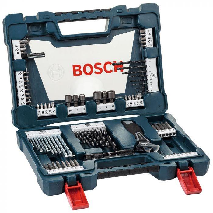 Kit de Brocas, Pontas e Bits V-Line com 83 Peças - Bosch