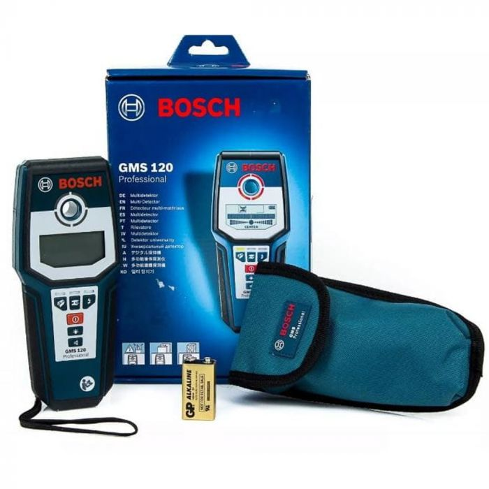 Detector de Materiais Bosch GMS 120 Professional (Default)
