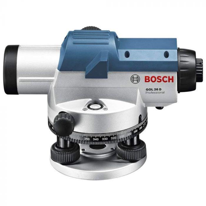Nível a Laser Óptico com Aumento de até 26x GOL 26 D com Maleta - Bosch