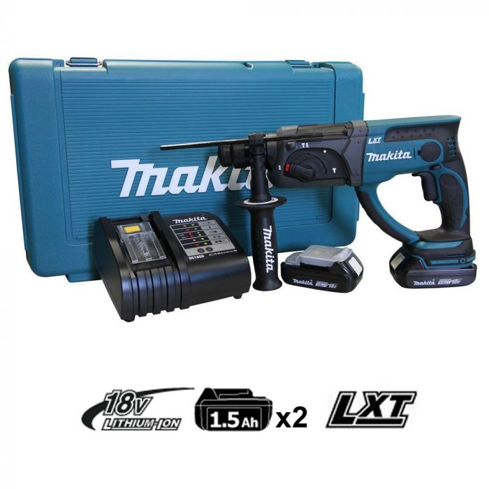 Martelete Combinado SDS-Plus à Bateria DHR202SYE Makita